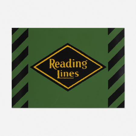 シルクスクリーン Cottingham - Reading Lines