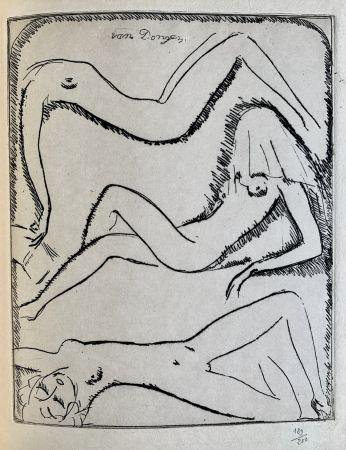 彫版 Van Dongen - Reclining Nudes