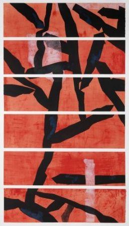 エッチングと アクチアント Wang - Red