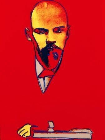シルクスクリーン Warhol - Red Lenin FS II.403