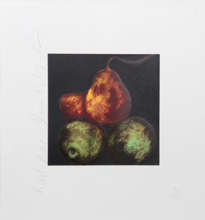 シルクスクリーン Sultan - Red Pears