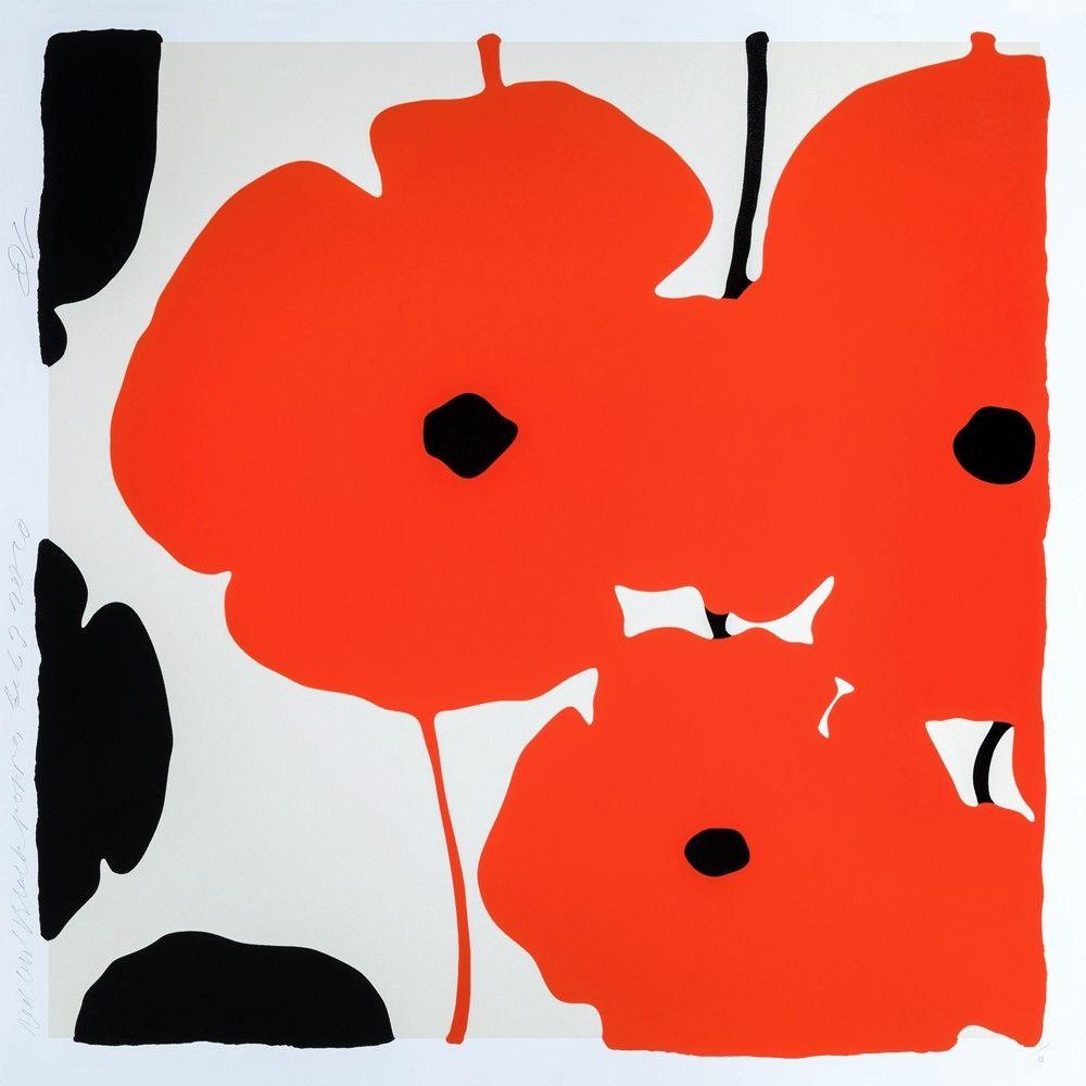 シルクスクリーン Sultan - Red Poppies