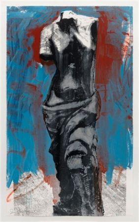 シルクスクリーン Dine - Red, White & Blue Venus For Mondale