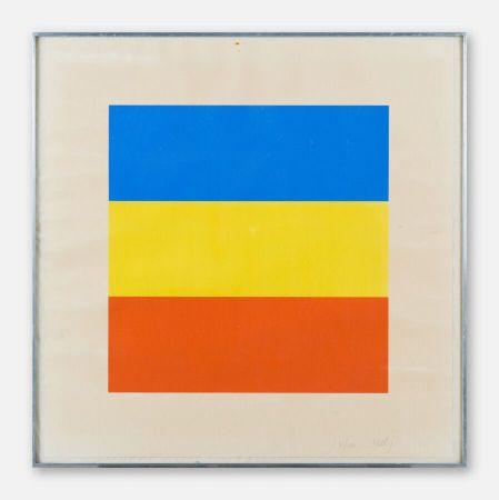シルクスクリーン Kelly - Red, Yellow, Blue.