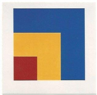 リトグラフ Kelly - Red/Yellow/Blue