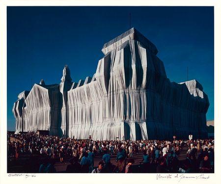 写真 Christo - Reichstag Mappe I, 16 Uhr