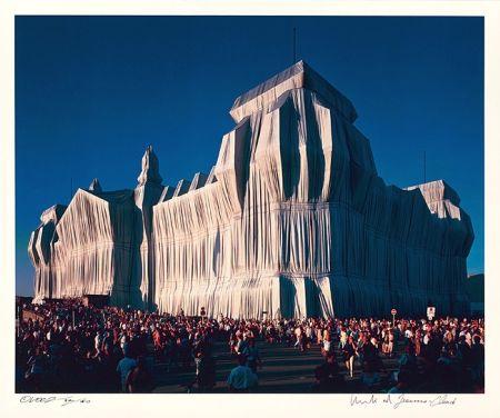 写真 Christo - Reichstag Mappe I, 18 Uhr