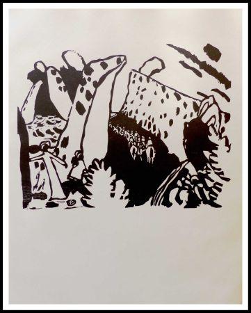木版 Kandinsky - REITERWEG