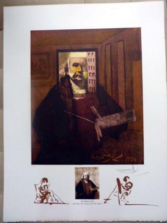 リトグラフ Dali - Rembrandt