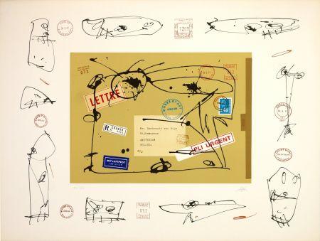 リトグラフ Saura - Rembrandt Van Rijin