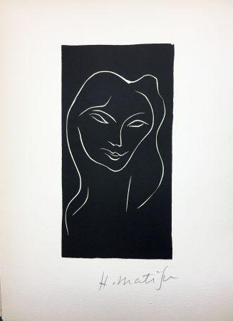 挿絵入り本 Matisse - René Char : LE POÈME PULVÉRISÉ. Linogravure originale signée (1947).