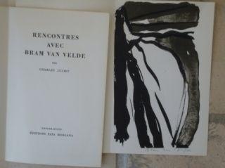 挿絵入り本 Van Velde - Rencontres avec Bram Van Velde
