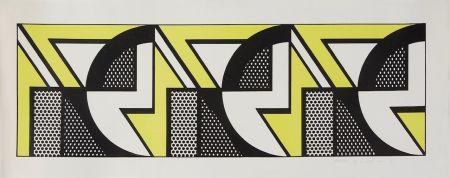 リトグラフ Lichtenstein - Repeated Design