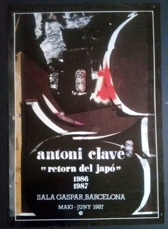 掲示 Clavé - Retorn al Japó - Sala Gaspar 1987