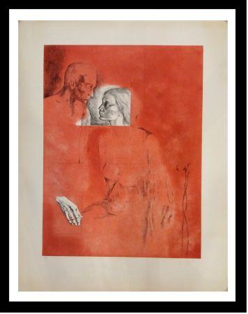 彫版 Gudiol - Retrato