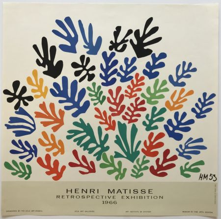 掲示 Matisse - Retrospective Exhibition