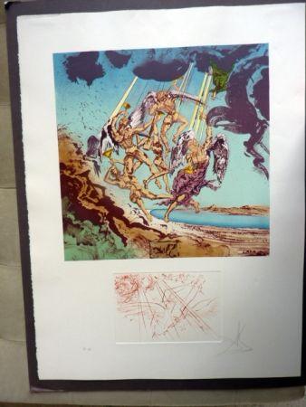 リトグラフ Dali - Return Of Ulysses (Homage To Homer)