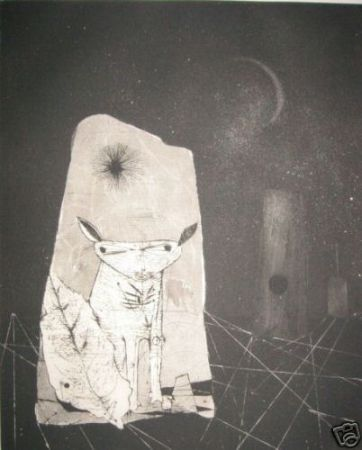 エッチングと アクチアント Friedlaender - Reves Cosmiques