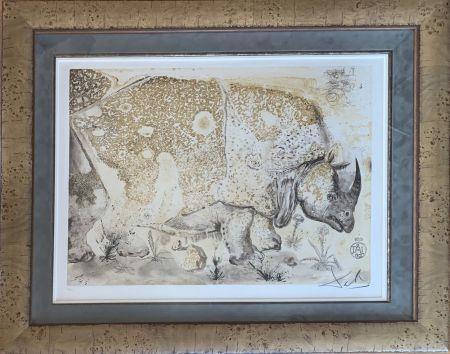 彫版 Dali - Rhinoceros