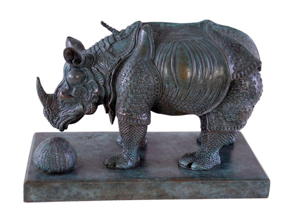 多数の Dali - Rhinoceros Dressed in Lace - Rhinocéros habillé en dentelles