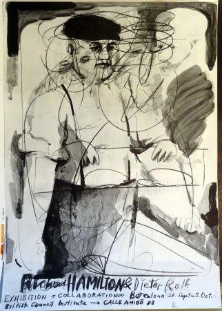 掲示 Hamilton - Richard Hamilton and Dieter Roth 'Collaborations'
