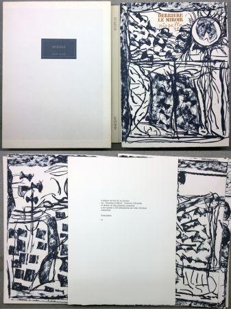 挿絵入り本 Riopelle - RIOPELLE. DERRIÈRE LE MIROIR N° 232. Janvier 1979. TIRAGE DE LUXE SUR ARCHES.