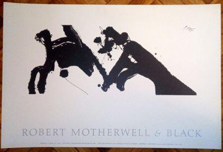 掲示 Motherwell - Robert Motherwell & Black