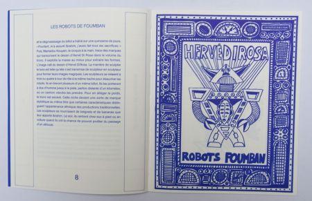 挿絵入り本 Di Rosa - Robots Foumban