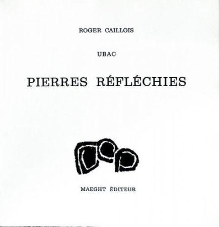 技術的なありません Ubac - Roger Caillois : PIERRES RÉFLÉCHIES (1975)