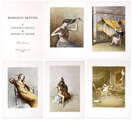 リトグラフ Olivier O - Romances Muettes