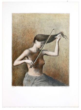 リトグラフ Olivier O - Romances Muettes (Le menuet des poux)