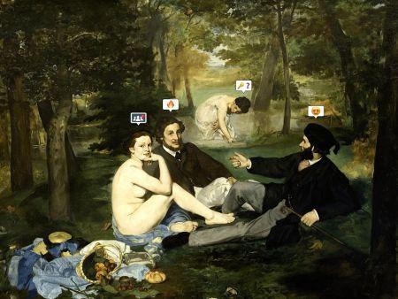 技術的なありません Løch-© - Romances without words (Le déjeuner sur l'Herbe)