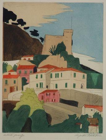 彫版 Rathbone - Roquebrune, French Riviera