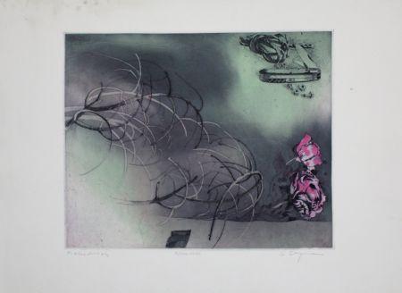 エッチングと アクチアント Bergmann - Rosa Rose