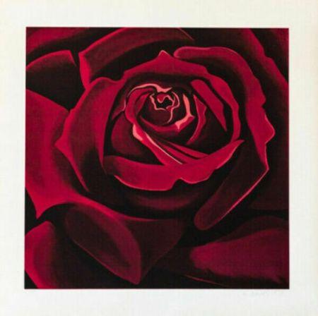 シルクスクリーン Nesbitt - Rose