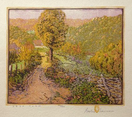 木版 Baumann - Rose Farm
