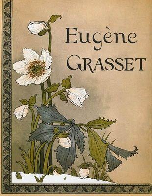 リトグラフ Grasset - Roses de Noël / Christmas Roses