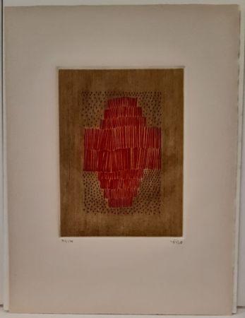 彫版 Piza - Rouge en croix