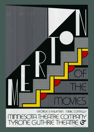 シルクスクリーン Lichtenstein - Roy Lichtenstein 'Merton Of The Movies' 1968 Original Pop Art Poster