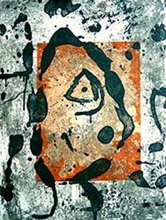 彫版 Miró - Rupestres