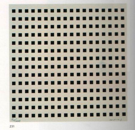 シルクスクリーン Nemours - Rythme du millimètre