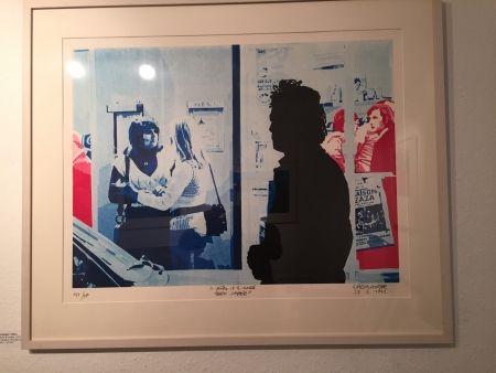 シルクスクリーン Fromanger - Série: Le peintre et le modèle