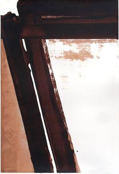 シルクスクリーン Soulages - Sérigraphie 15