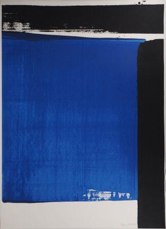 シルクスクリーン Soulages - Sérigraphie n°16