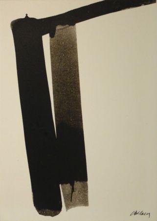 シルクスクリーン Soulages - Sérigraphie no 13