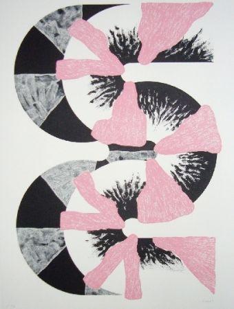 リトグラフ Sugai - S (Rose)