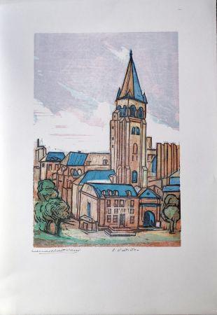 リノリウム彫版 Castellani - Saint-Germain des prés