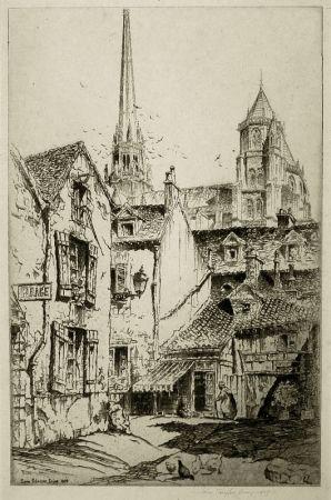 彫版 Arms - Saint Benigne, Dijon