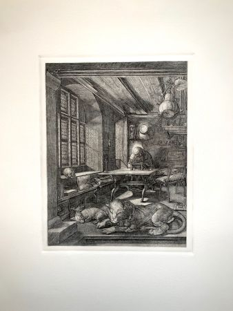 彫版 Durer - Saint Jeronimus