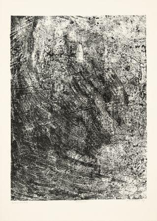 リトグラフ Dubuffet - Salissures
